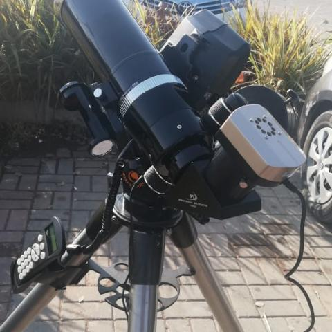 Time for some astrophotography