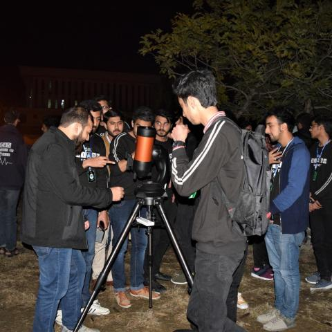 Astronomy night at GIKI