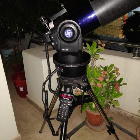 Dr Farrukh Shahzad joins us in spirit with his Meade ETX 125