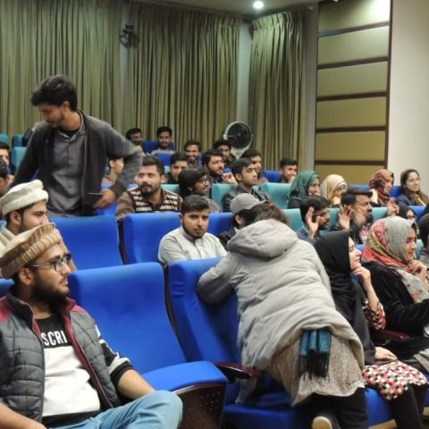 The audience at COMSATS university